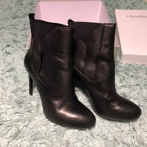 2018 cool Robbi Womens Black Charles By Charles David Womens Boots Booties